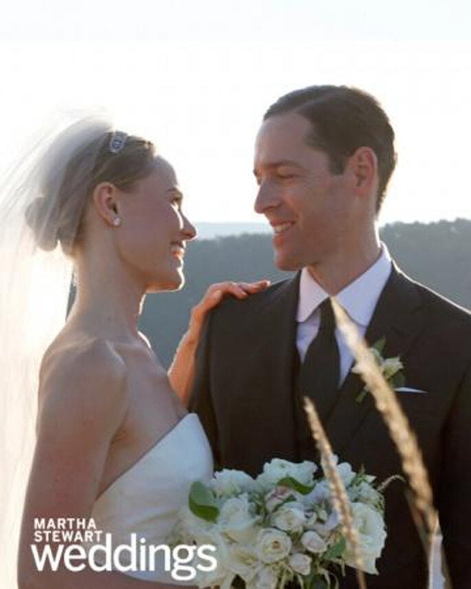 Todos los detalles de la boda de Kate Bosworth y Michael Polish - Martha Stewart Weddings Facebook