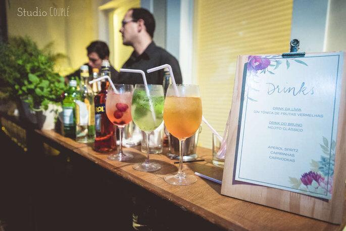 Bar no casamento