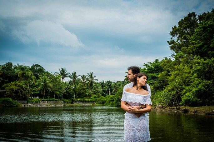 Ensaio pre-wedding lago