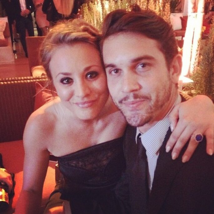 Kaley Cuoco y Ryan Sweeting anunciaron su compromiso - Foto Ryan Sweeting Instagram