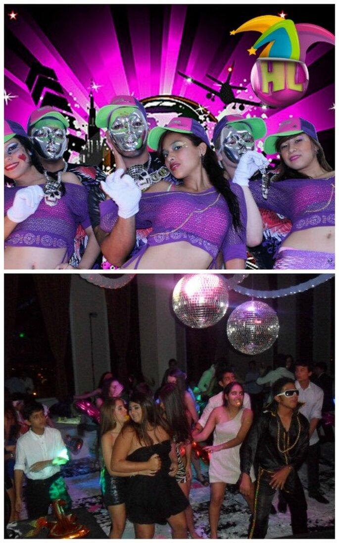 Fiestas estilo urbano y disco. Fotos: La Hora Loca Cali