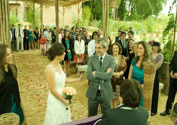 En La Alberquina realizan elegantes ceremonias campestres.