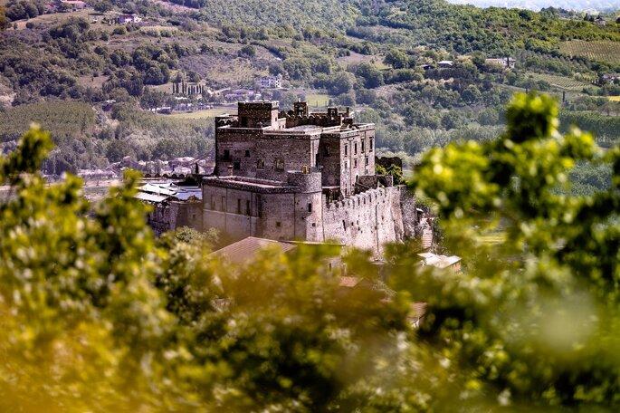 Castello di Limatola - veduta castello