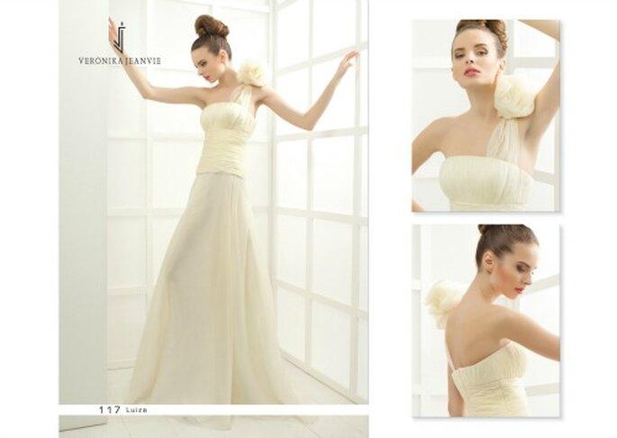 Robe de mariée Veronika Jeanvie - modèle Luiza