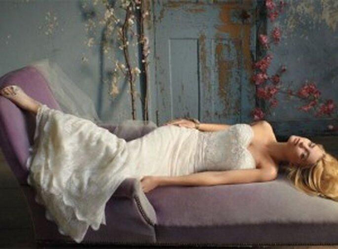 Stilo vintage per la sposa del 2012. Collezione Alvina Valen