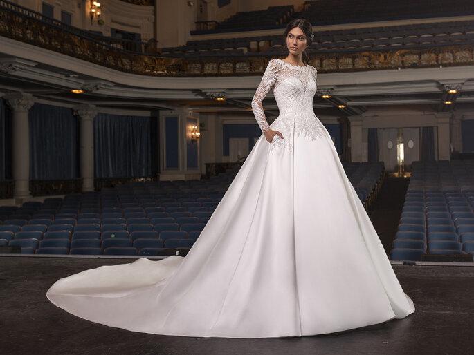 vestido princesa Pronovias 2021