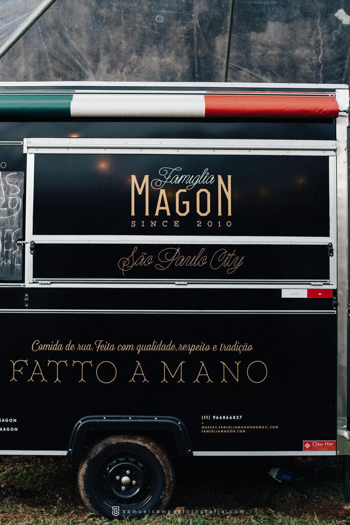 Food Truck no Casamento