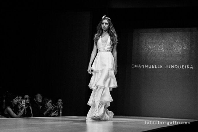 CasaModa Noivas 2013 - Linha Marriage Emannuele Junqueira. Foto: Fabio Borgatto