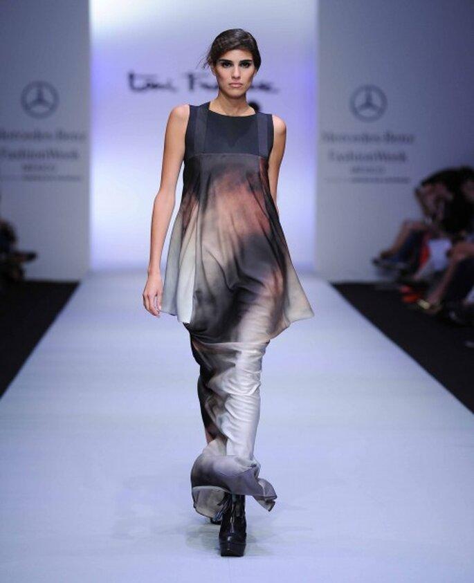 Vestido presentado por Toni francesc. Mercedes Benz Fashion Week México otoño/invierno 2012-2013