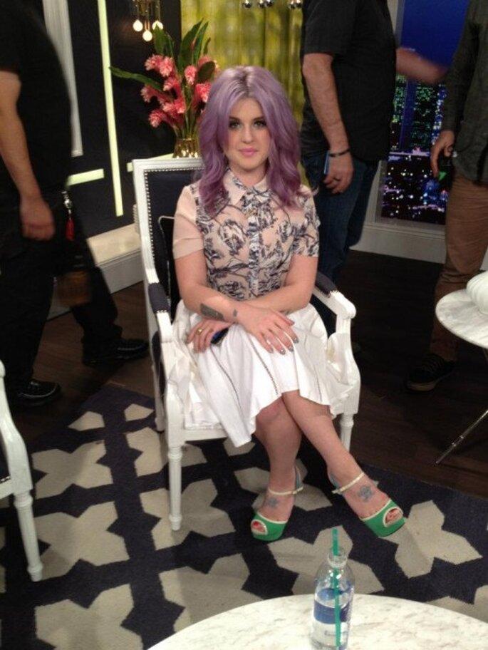 "Kelly Osbourne presentadora del show ""Fashion Police"" se acaba de comprometer - Foto Fashion Police Facebook"