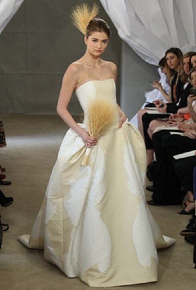 Romantik Brautkleid von Carolina Herrera
