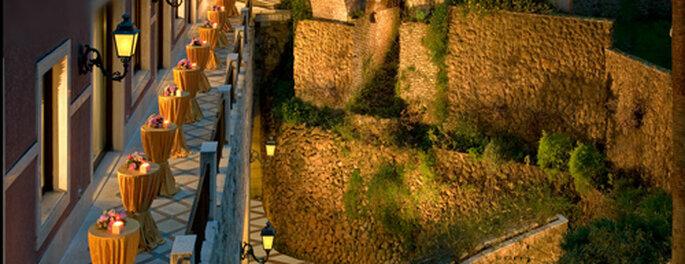 Eleganza ed esclusività, a partire dai dettagli. Foto: Parcodeiprincipi.com