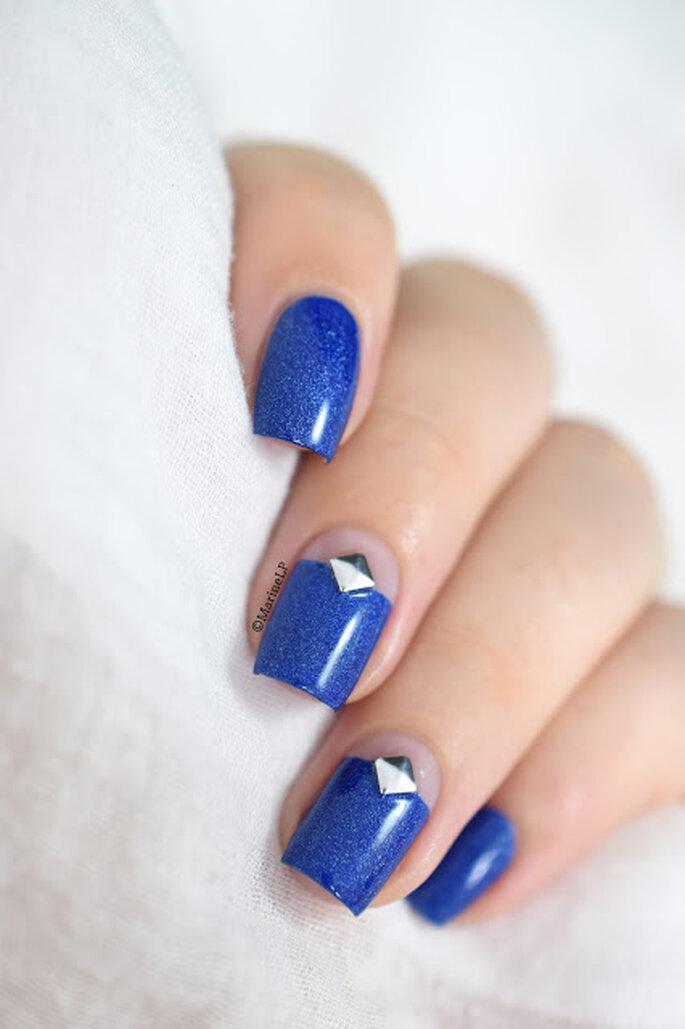 Photo : Marie Loves Polish - Captain Blue
