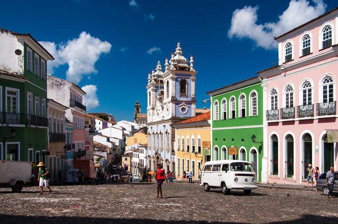 Photo : Andrea Moroni (VisualHunt) - Pelourinho-Salvador de Bahia