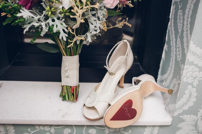 Sapatos coração