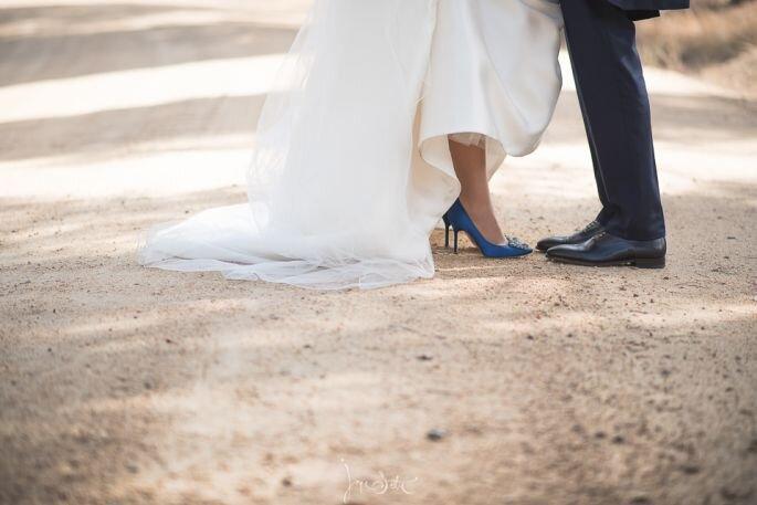 Porque los vestidos de novia tienen cola