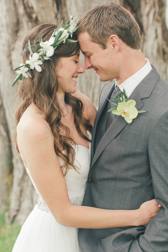 14 formas para combinar con tu novio el día de la boda - Carlie Statsky