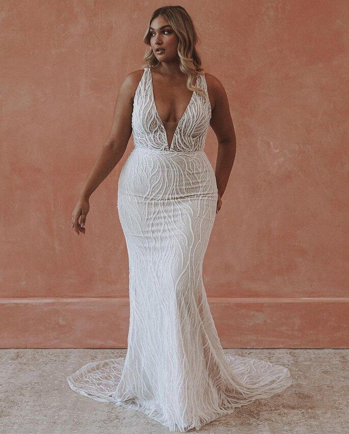 robe de mariée grande taille sirène
