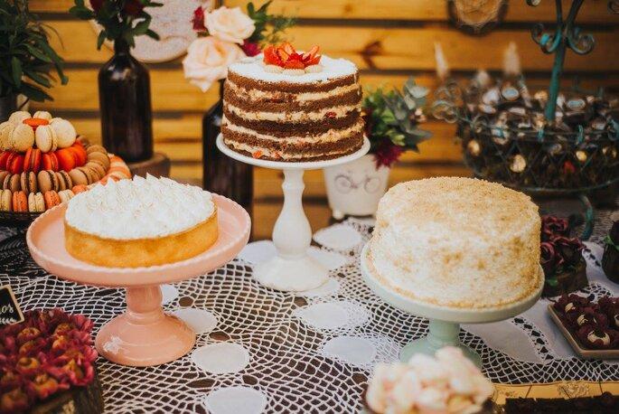trio de bolos