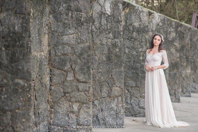 Vestido de noiva para casamento praiano
