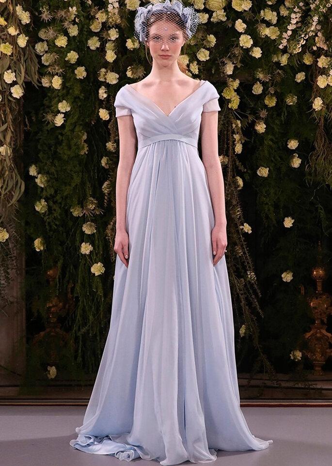 Kleid von Cristina Tamborero. Credits: Barcelona Bridal Fashion Week