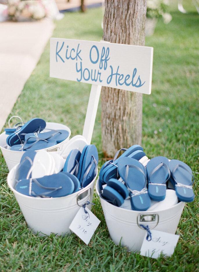 Sandalias para invitados a matrimonio