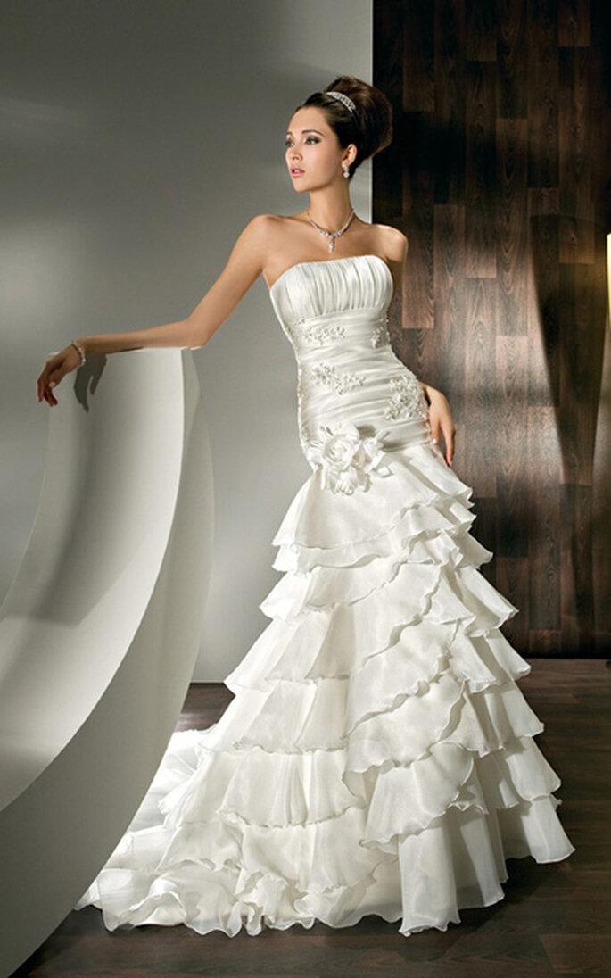 Robes de mariée modulables Demetrios 2012