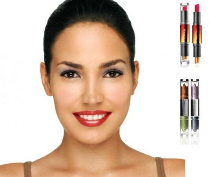 Moda en maquillaje 2013. Foto de Virtual Makeover de Cover Girl.