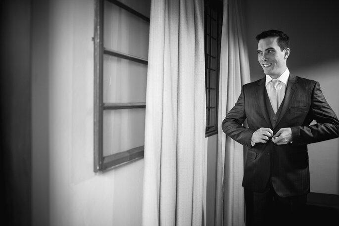 Traje e sapato do noivo: Garbo   Foto: Pri Martins e Tiago Silva