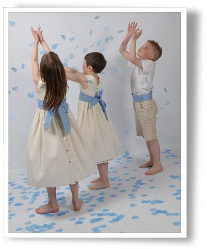Tenues d'enfants d'honneur - Cortège d'Anges
