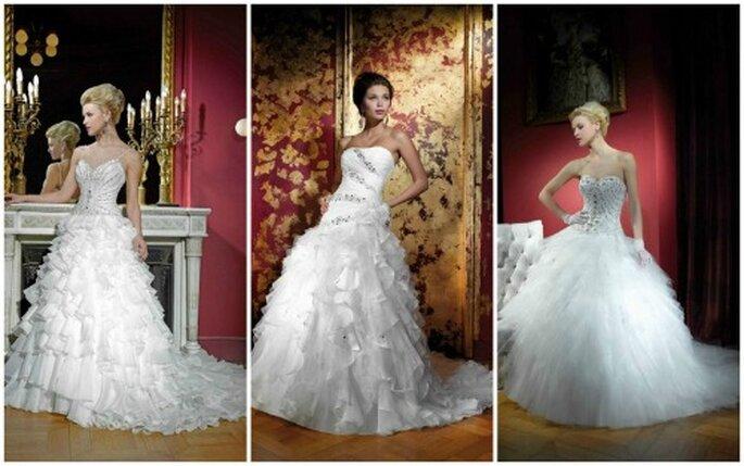 suknie ślubne Kelly Star 2012 księżniczki