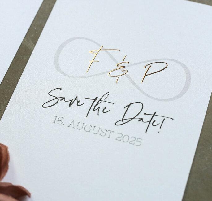 tarjeta save the date boda