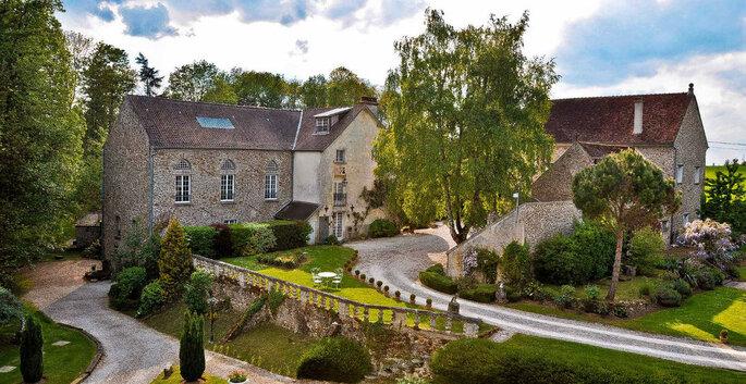 Le Prieuré de Saint Cyr - Lieu de réception mariage - Seine-et-Marne