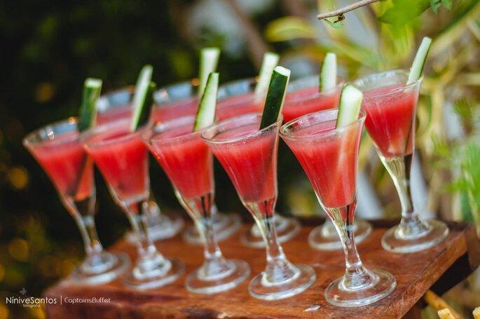 Para o clima quente, drinques refrescantes