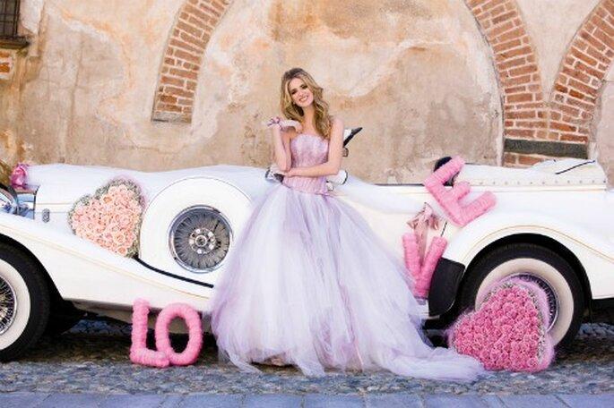 Romantica e superfemminile la sposa della Collezione 2012 secondo Nicole Spose