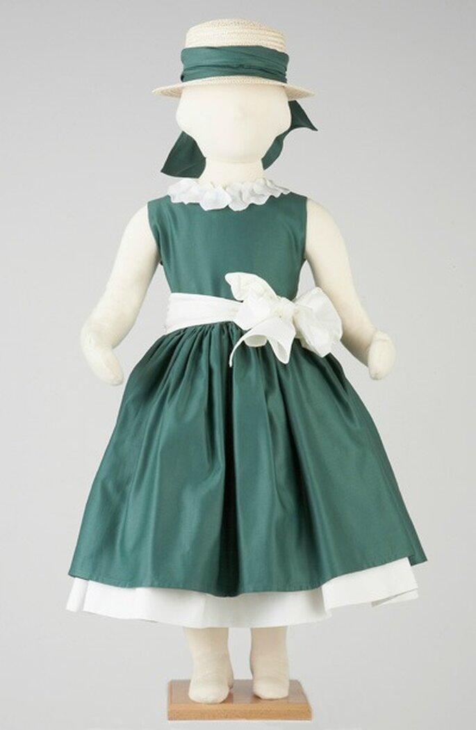 Une robe pour une petite princesse ! source : Tambours et Trompettes