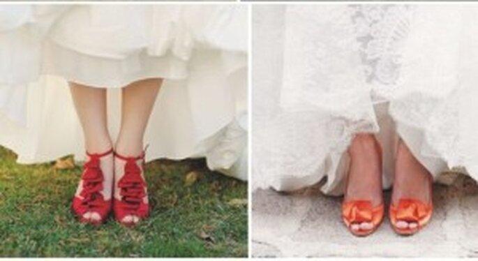 Sapatos de Noiva Colorido