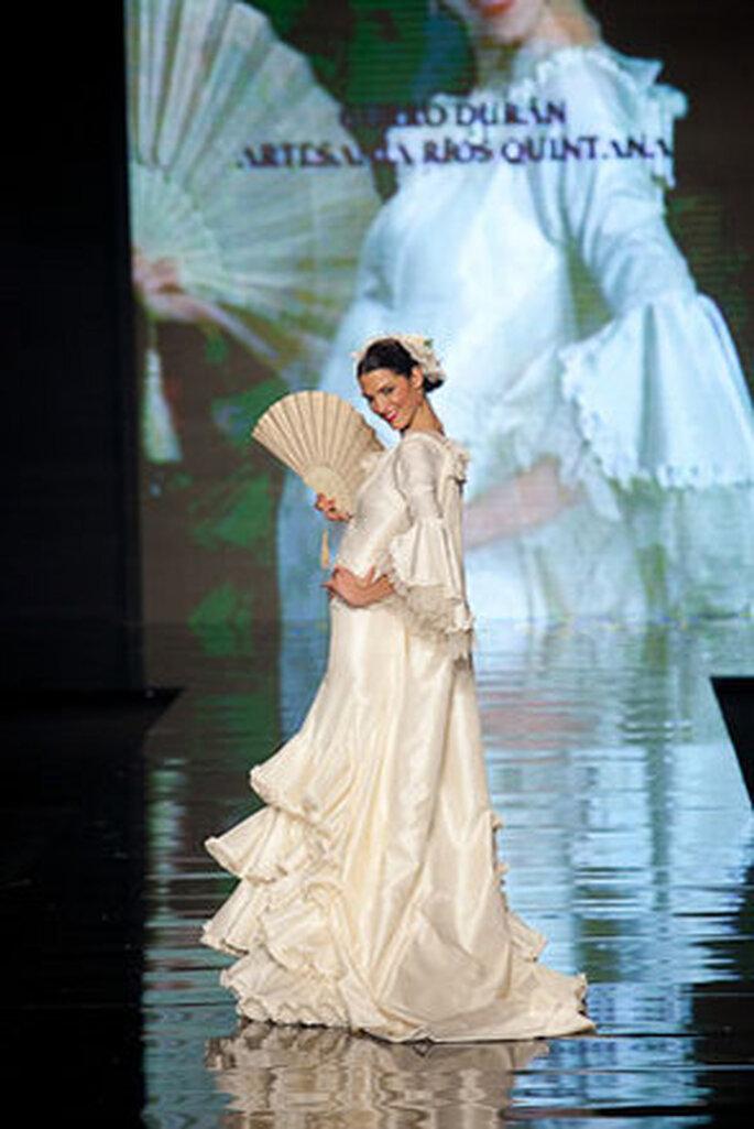 Inspiración flamenca y sofisticación para una novia contemporánea.