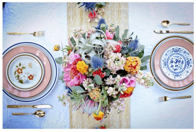 Incroyables idées déco pour un mariage vintage super trendy - Photo Robyn Preston Photography
