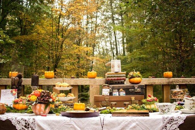 mariage menu automne