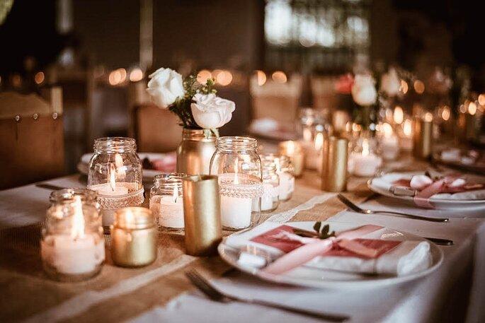 Foto: Lupe Fotografía. Decoración: Un sueño de boda.
