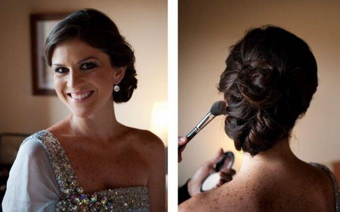 Peinados para novia. Foto de Dani Alda .