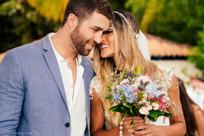 Buquê Destination wedding rústico chic casamento praia