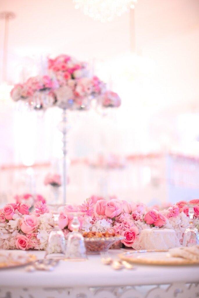 Real Decor: Majestical wedding decor fit for a princess- Photo: Jacob & Pauline Photography