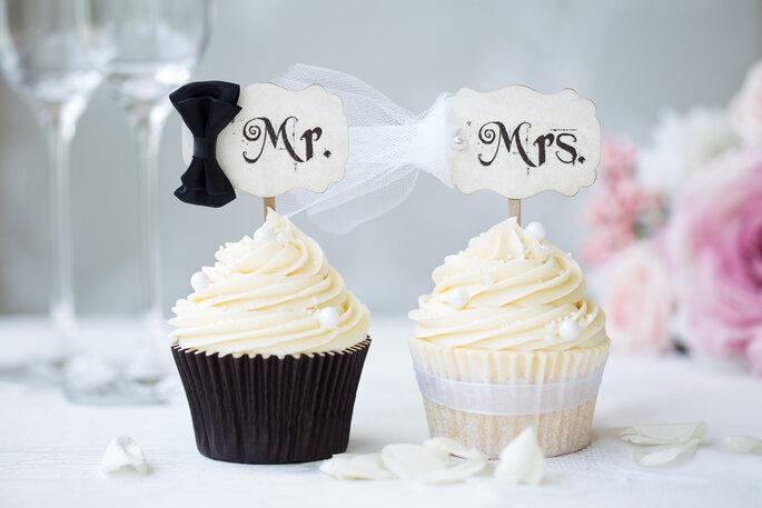 Een Cupcaketaart Op Jullie Bruiloft
