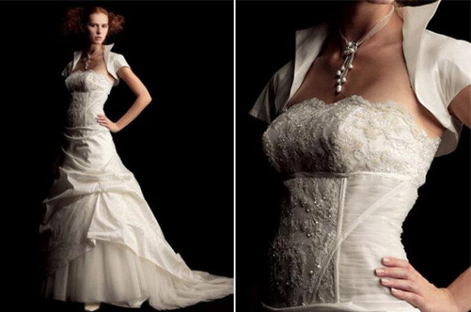 Vestido de novia colección Fabio Gritti 2012