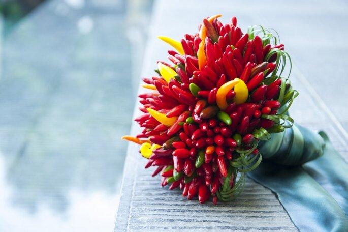 Buquê de pimentas