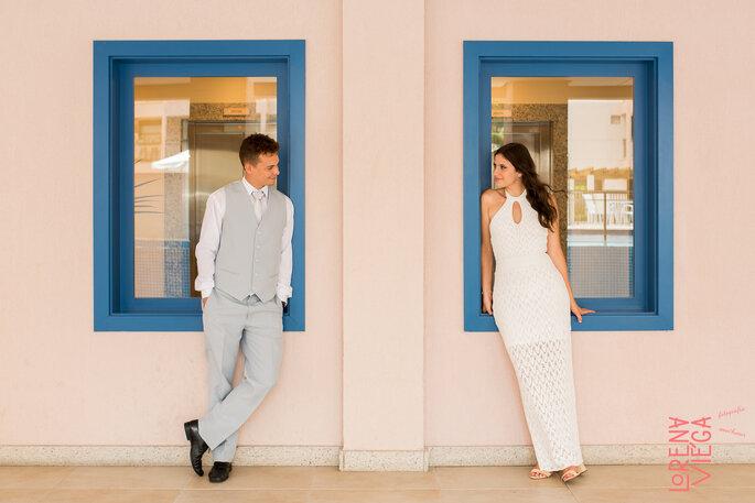 Energia e alegria dos noivos chega até os convidados