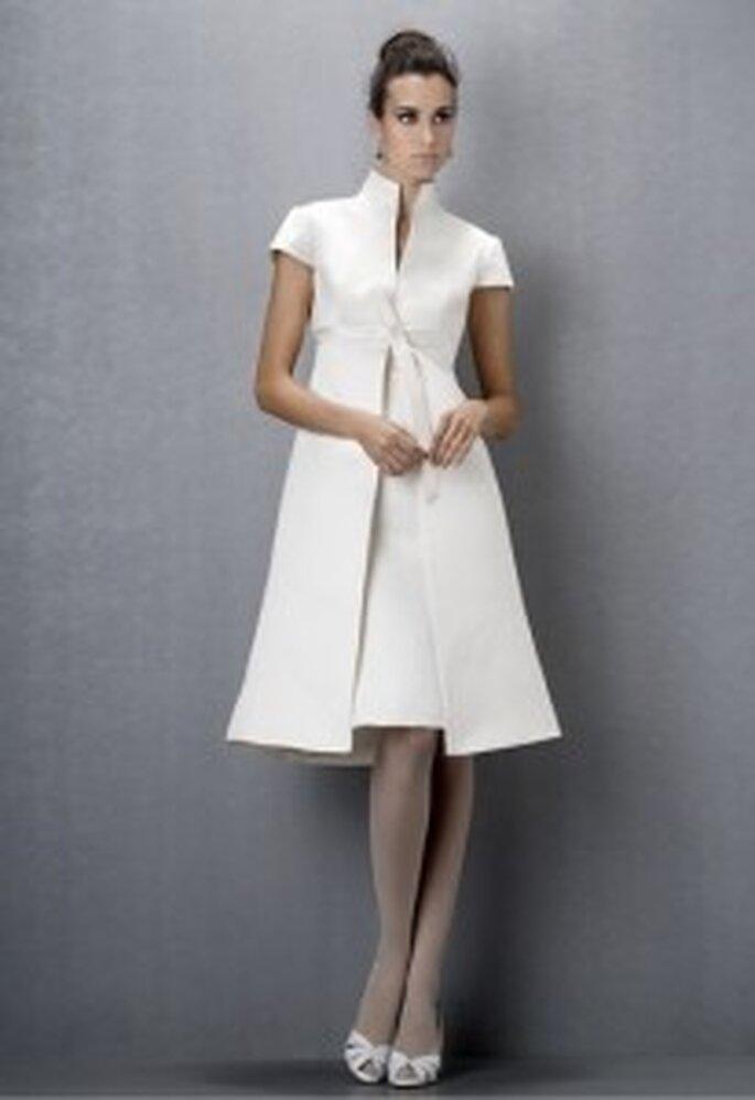 robe cocktail blanche 2