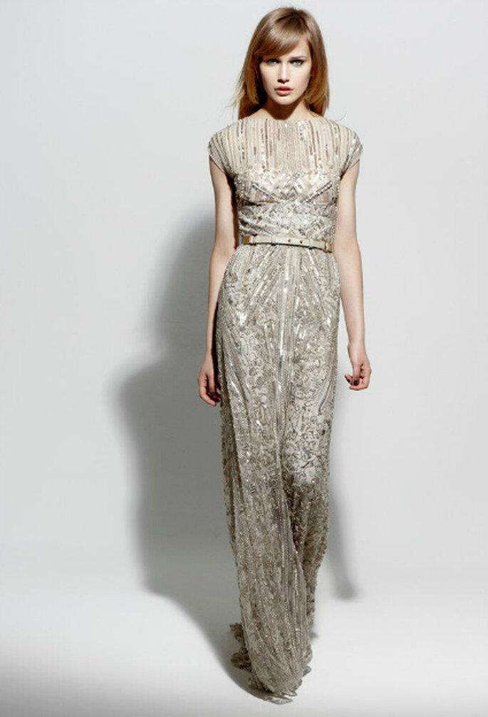Glamouröse Maxi-Kleider trumpfen mit schlichten Schnitten –  Foto: Elie Saab